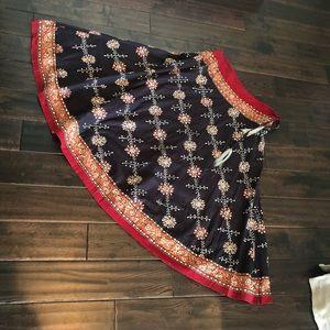 Soft Surroundings sequin Skirt PM